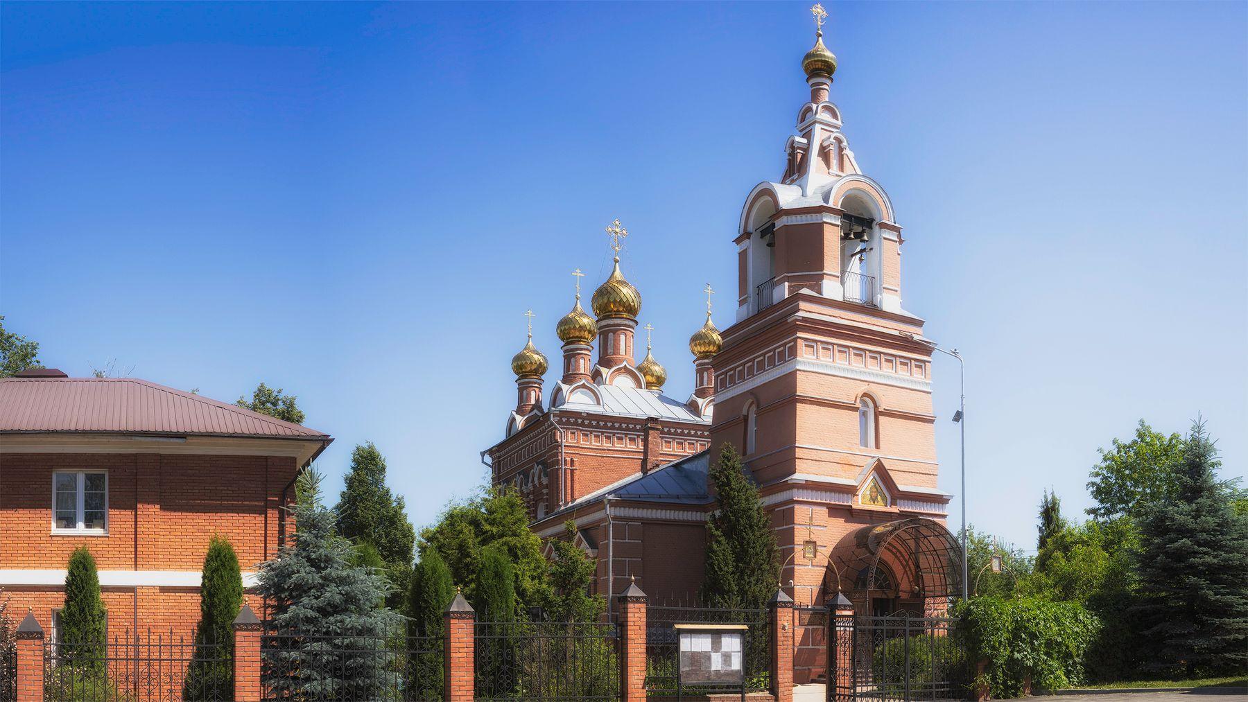 Храм Нерукотворного Образа Христа Спасителя село Большое Свинорье