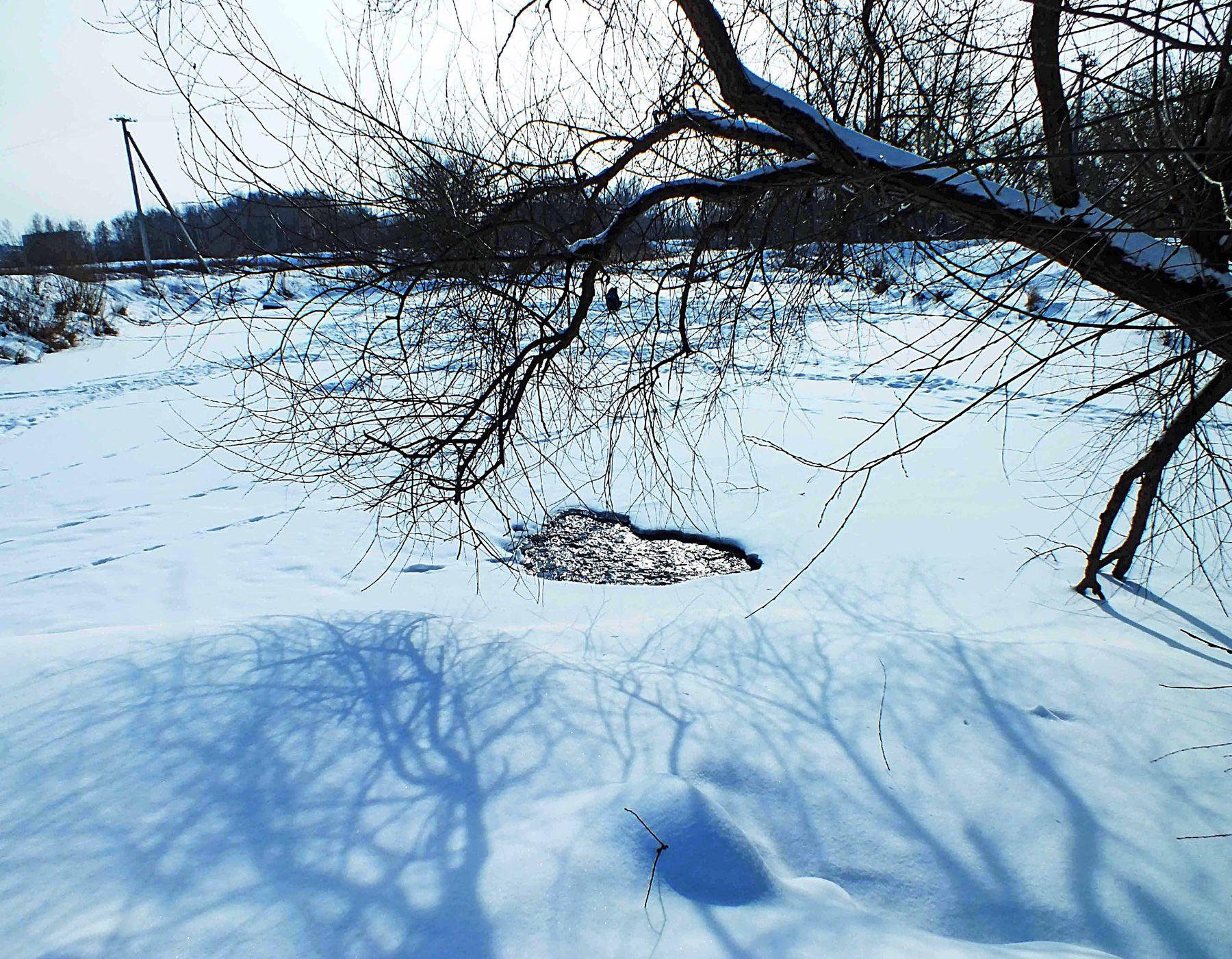 Это было в феврале зима снег февраль Тулица