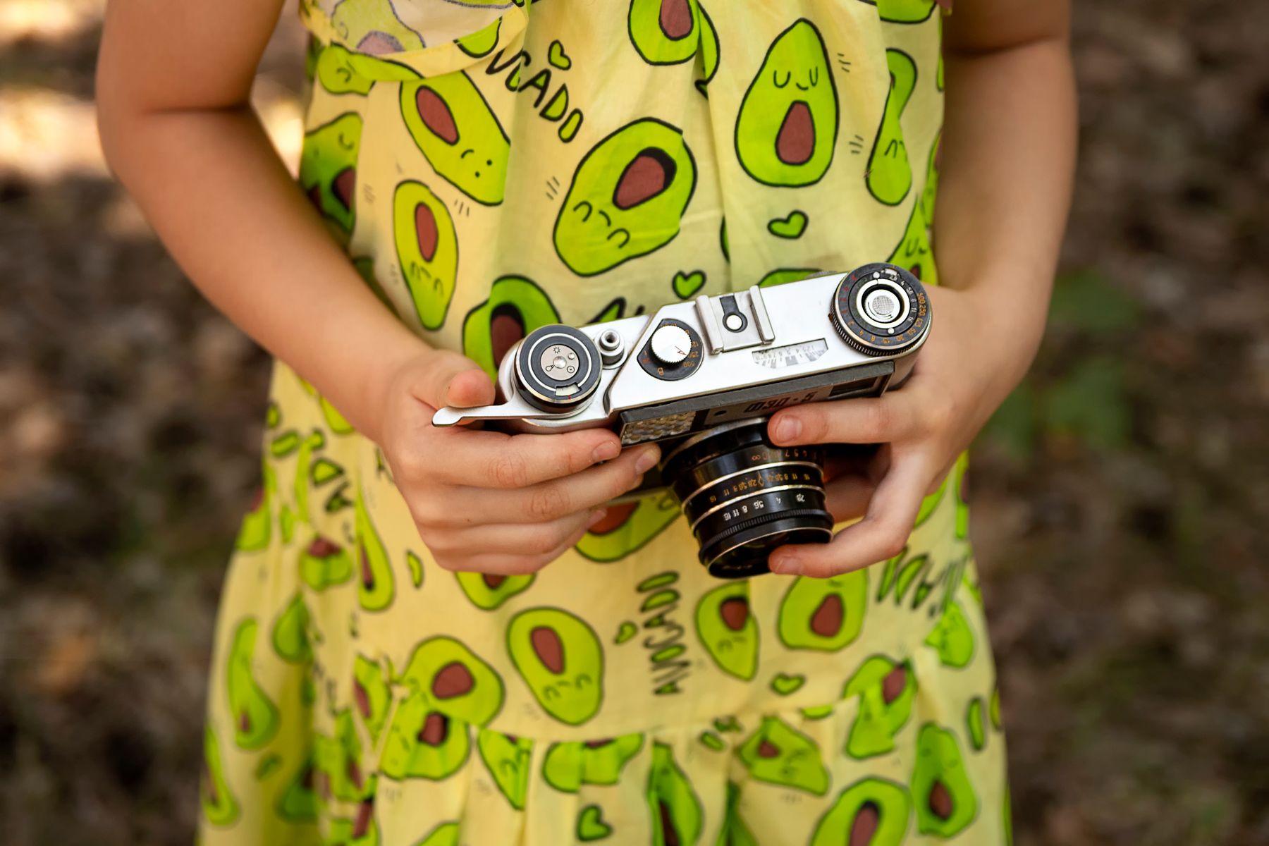 *** фэд фотоаппарат дети ребенок руки