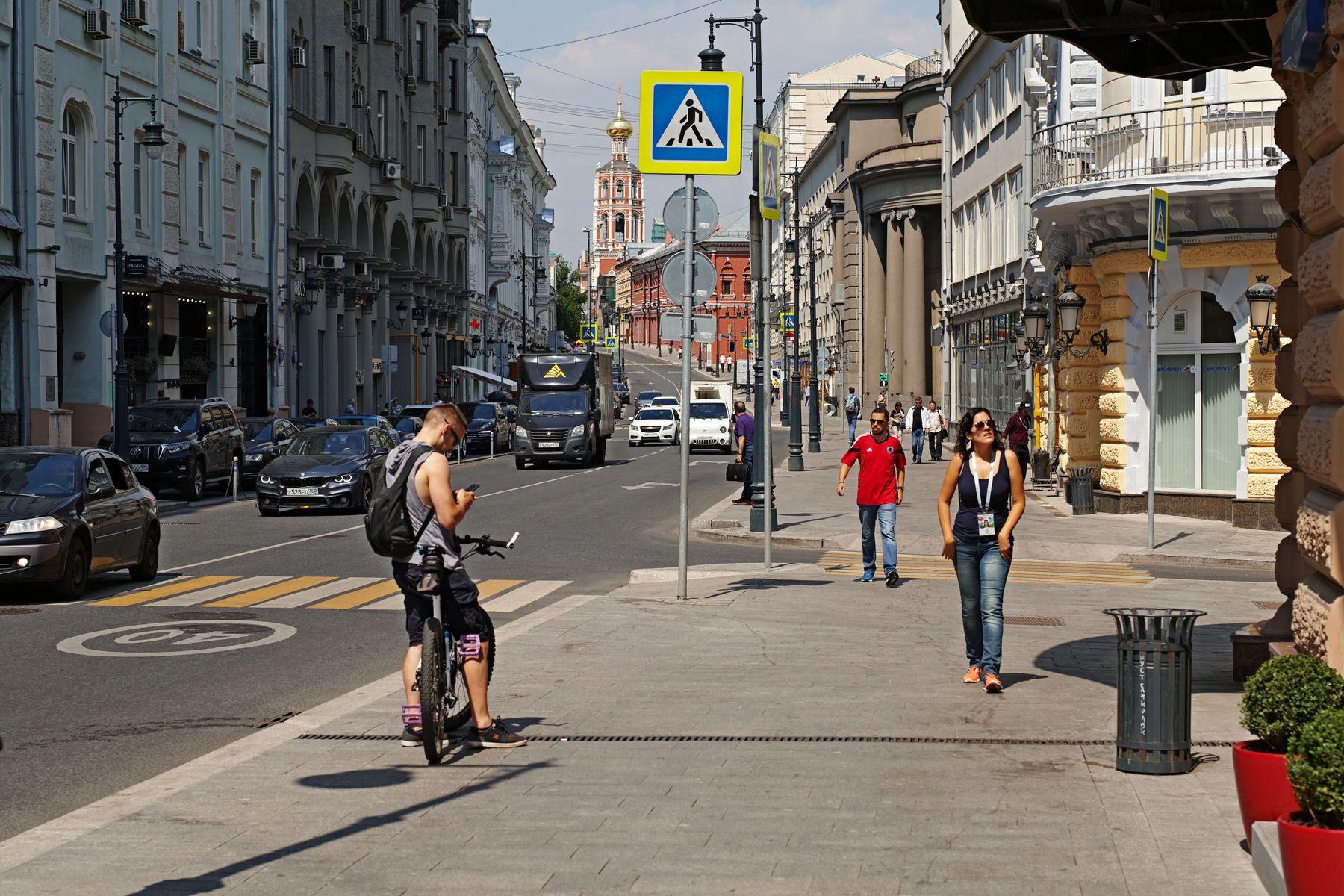 Петровка город Москва улица Петровка