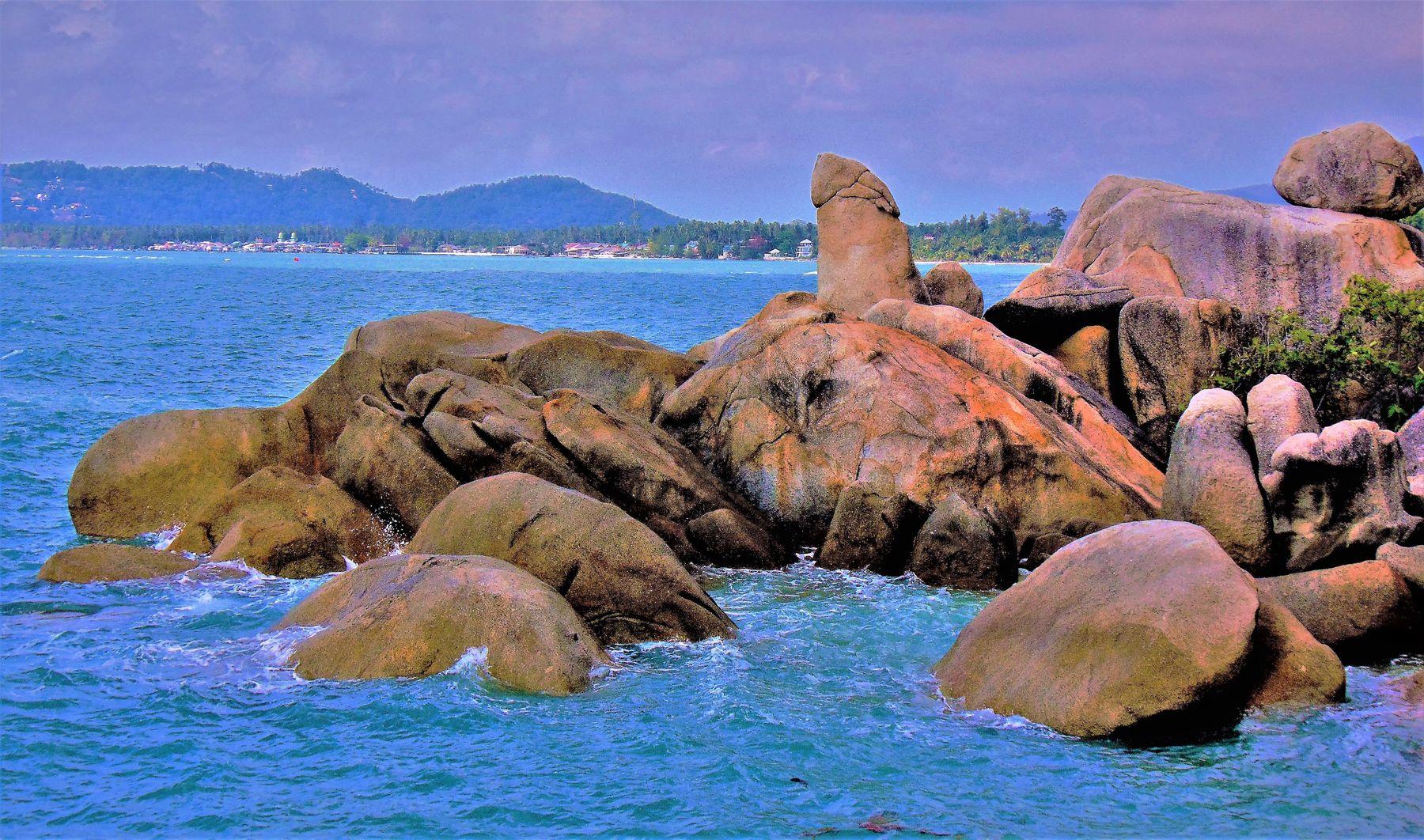 """Остров"""" Дедушка"""" Путешествия Малайзия остров Самуи камень """"Дедушка"""""""