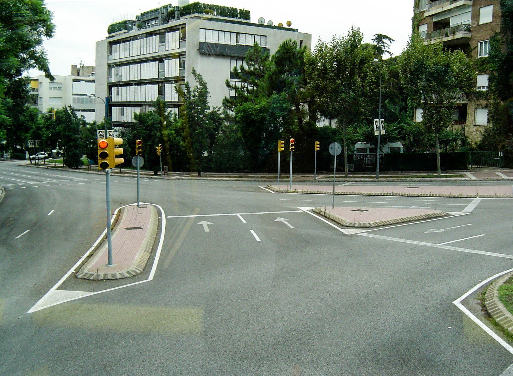 Час пик в Барселоне (31.08.2004)
