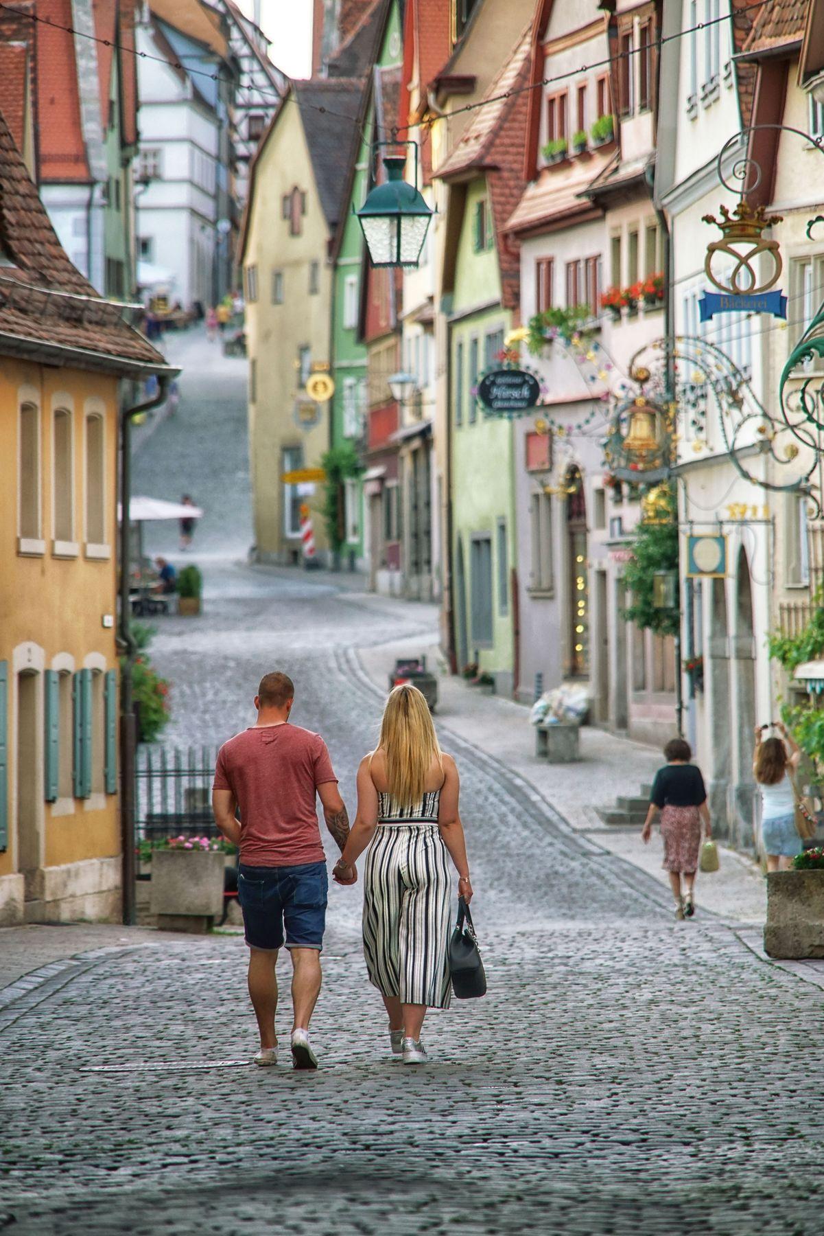 Бавария, Ротенбург... Ротенбург Бавария Германия