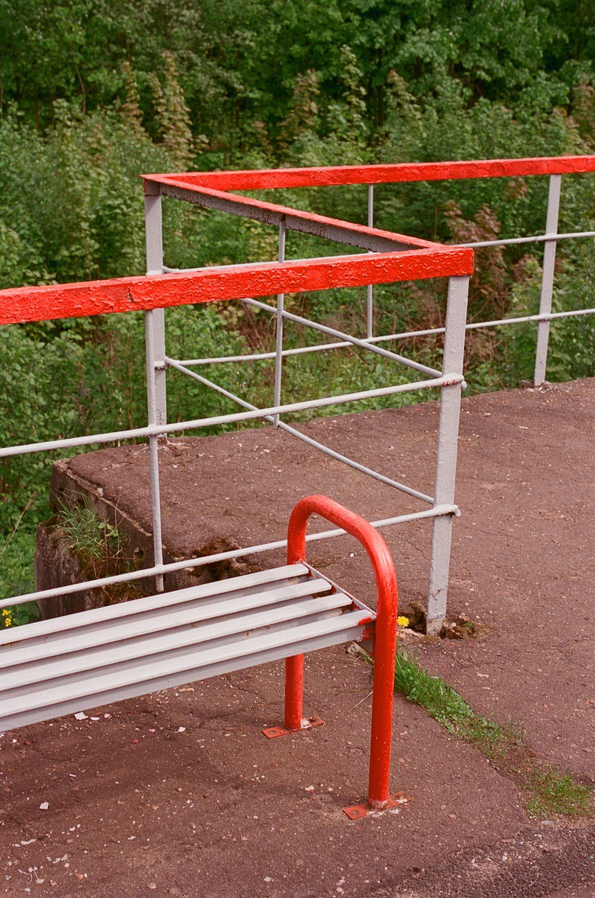 РЖД. Станция 92 километр Leica m3 Kodak Aerocolorпленка summilux 50mm 1.4