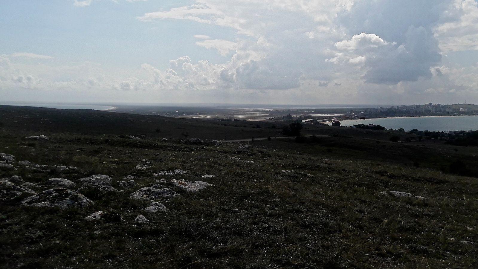 Казантип Щелкино Казантип полу-остров