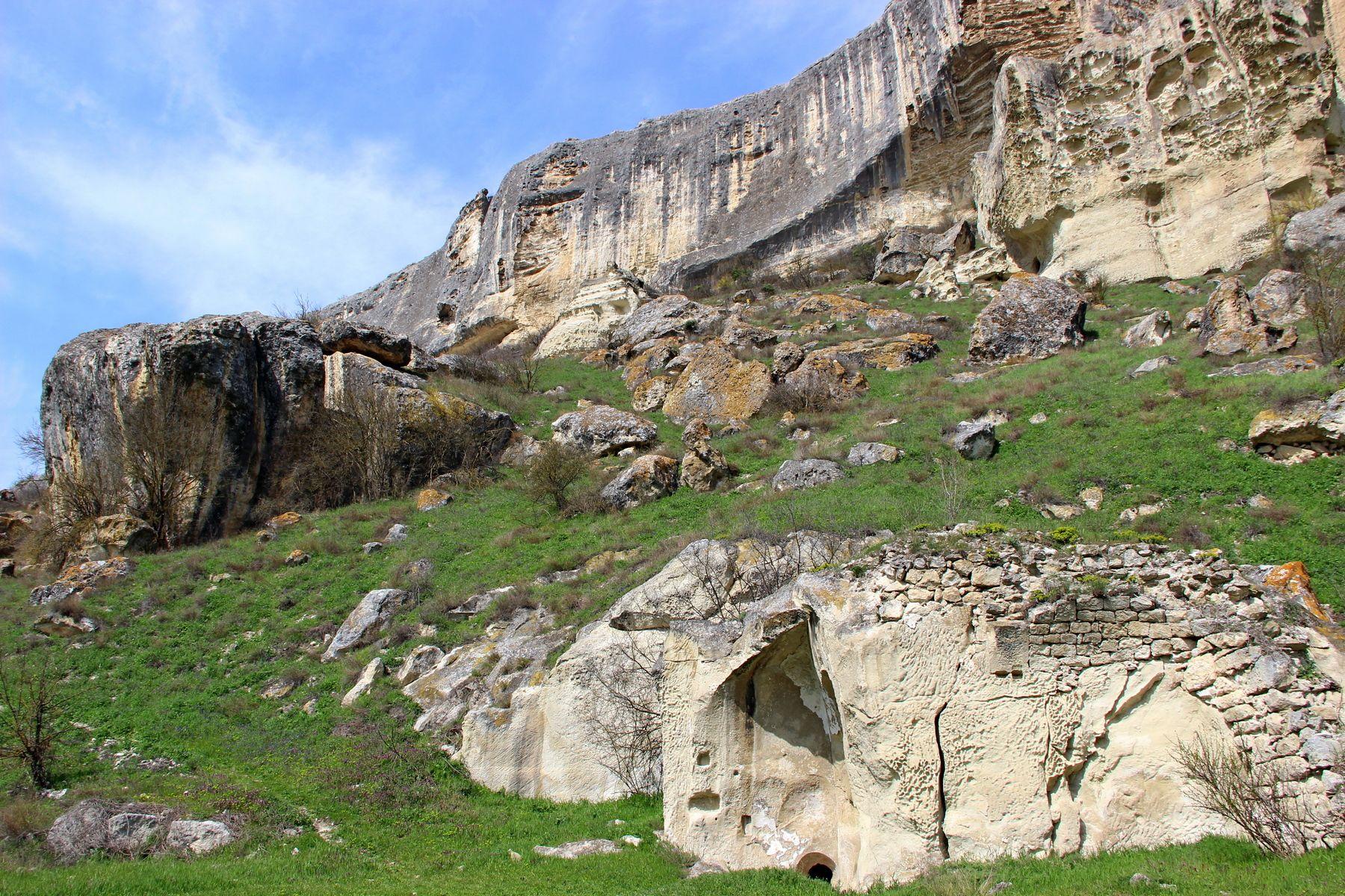Качи-Кальон крым качи-кальон пещерный город