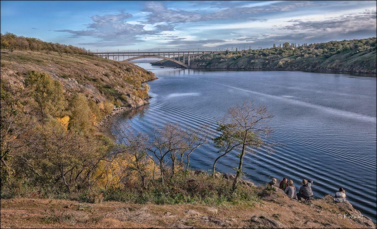 *** река Днепр заповедник осень