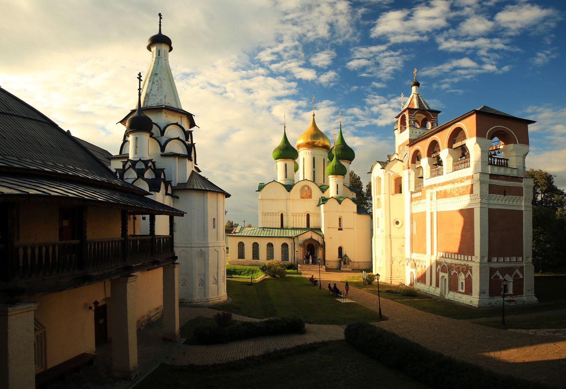 Суздальский вечер Суздаль Спасо-Евфимиев монастырь