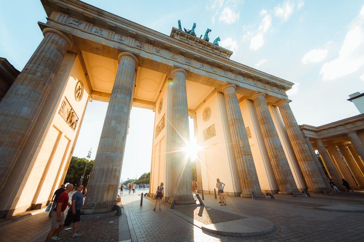 Бранденбургские ворота...