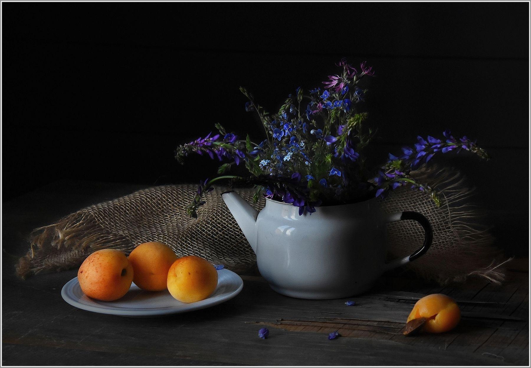 ...... Абрикосы ... предметы композиция фрукты свет идея