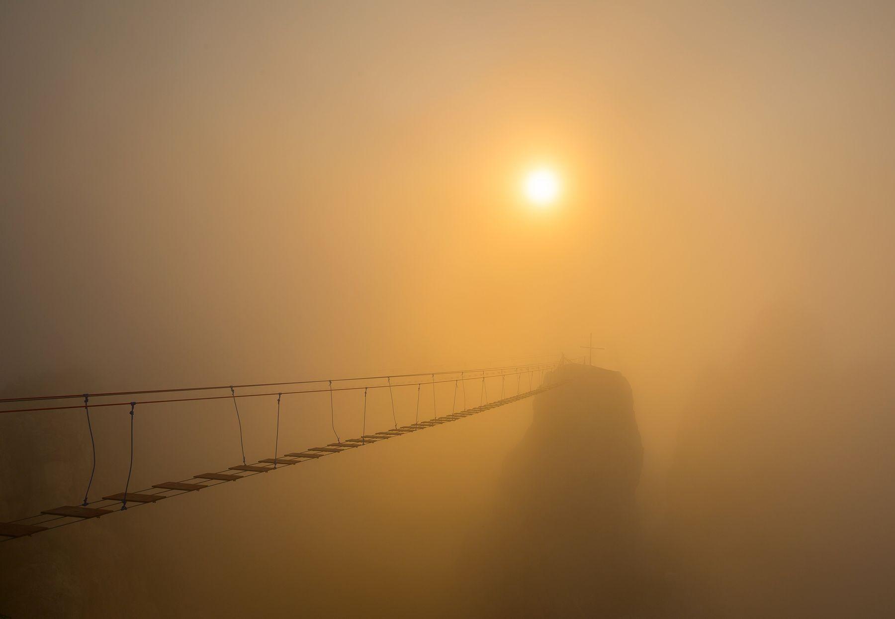 Зубцы Ай-Петри Ай-Петри Крым Ялта Зубцы Туман на Плато фотограф