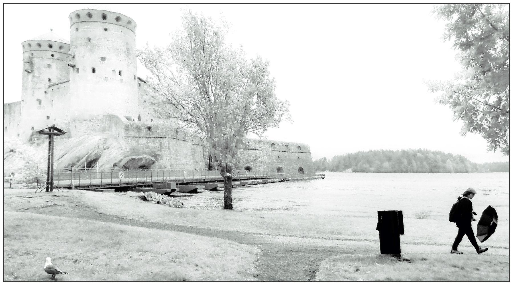 *Дождь позади* фотография путешествие Финляндия лето крепость жанр Фото.Сайт Светлана Мамакина Lihgra Adventure