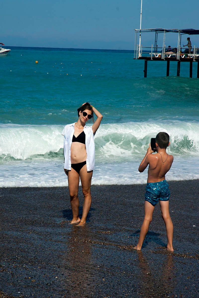 Фото на память. море пляж фото