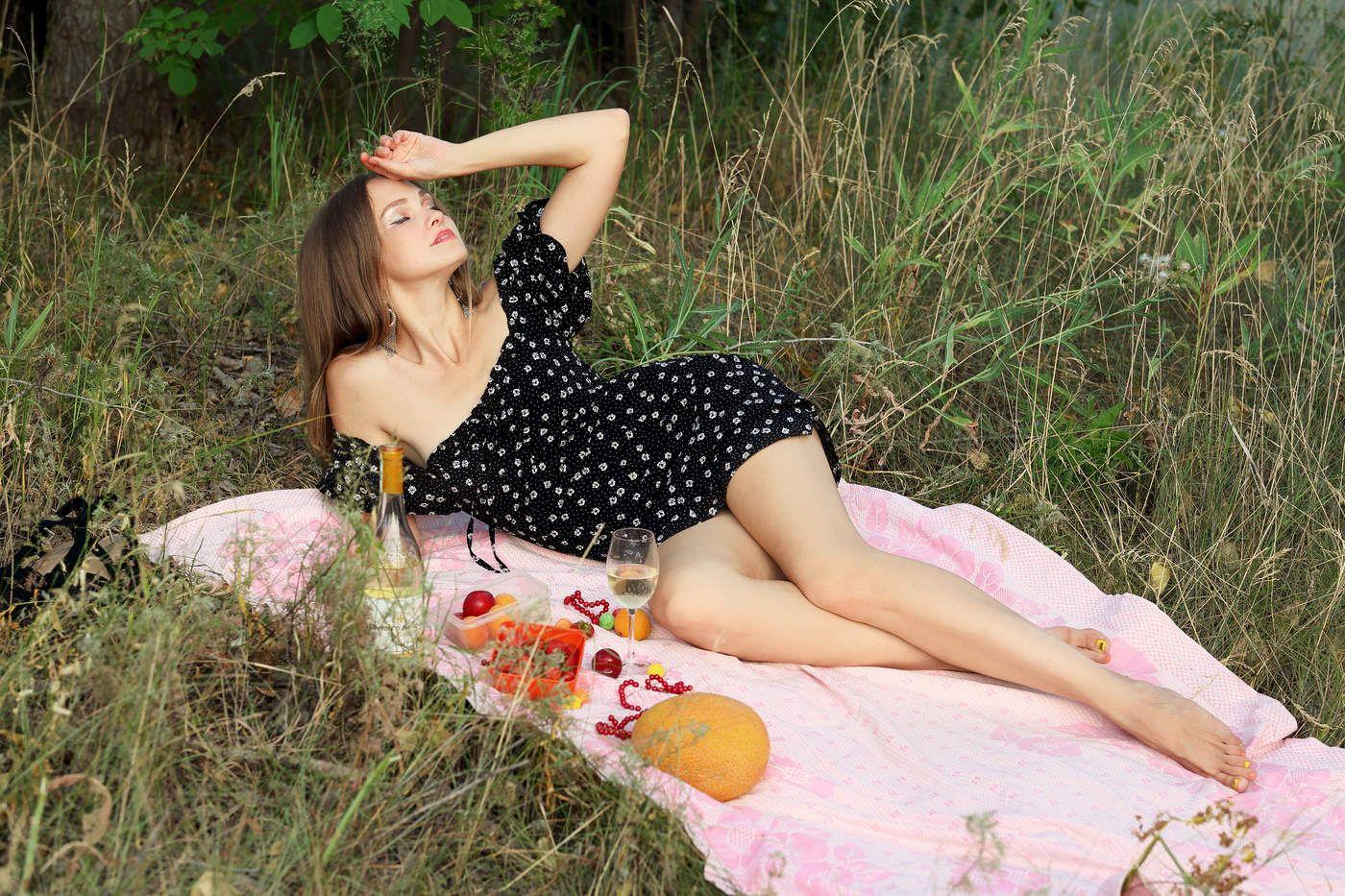 Как жаль, что кончилось лето... портрет девушка модель
