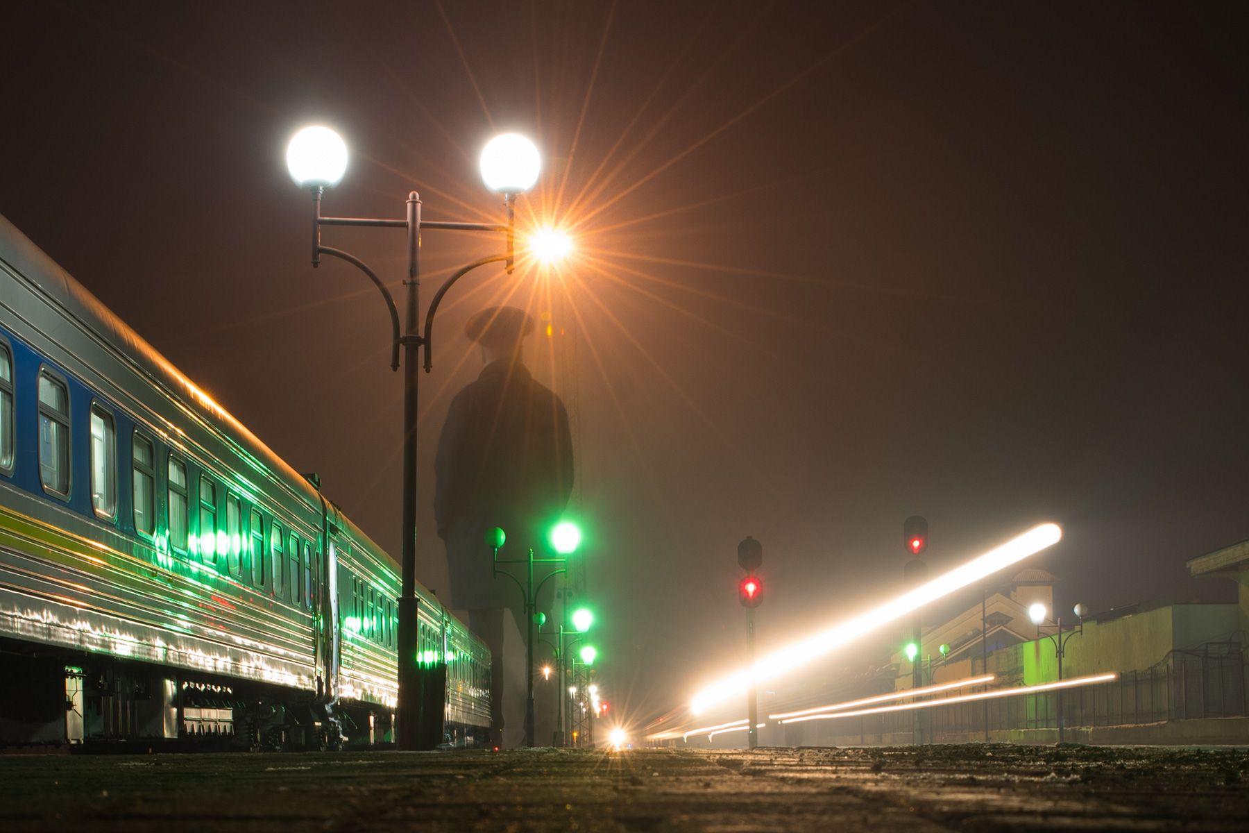 Призрачный проводник проводник поезд вокзал дорога