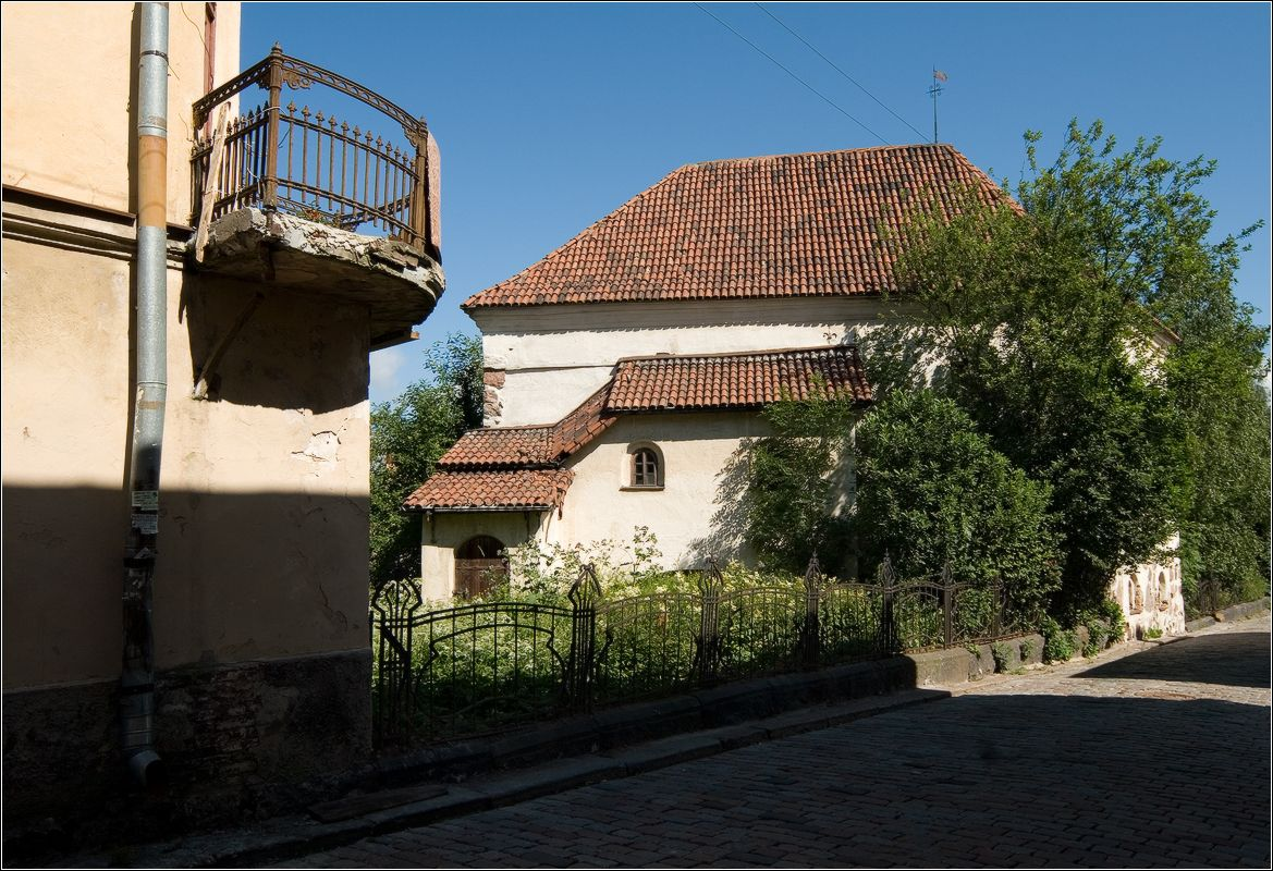 Костел св. Гиацинта (Рыцарский дом) XVI века выборг_архитектура