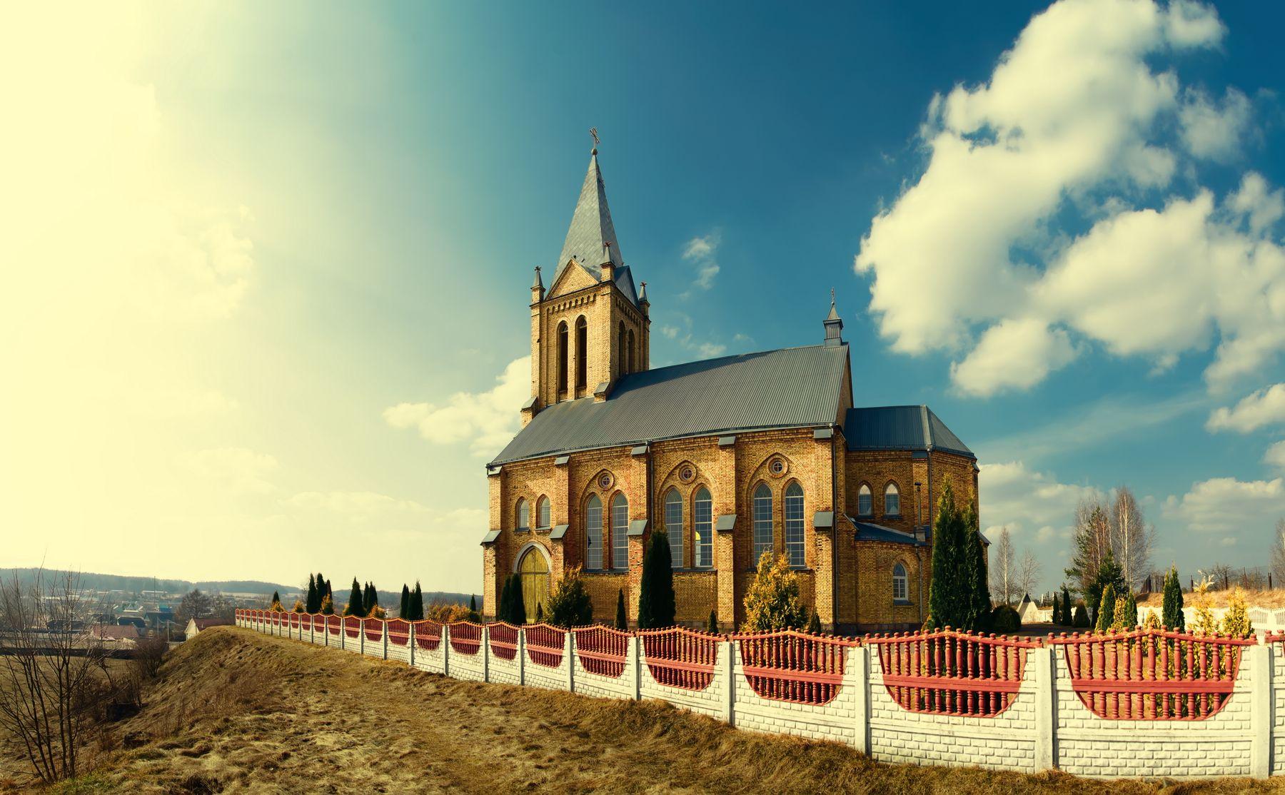 Костёл Вознесения Пресвятой Девы Марии храм костёл архитектура религия история
