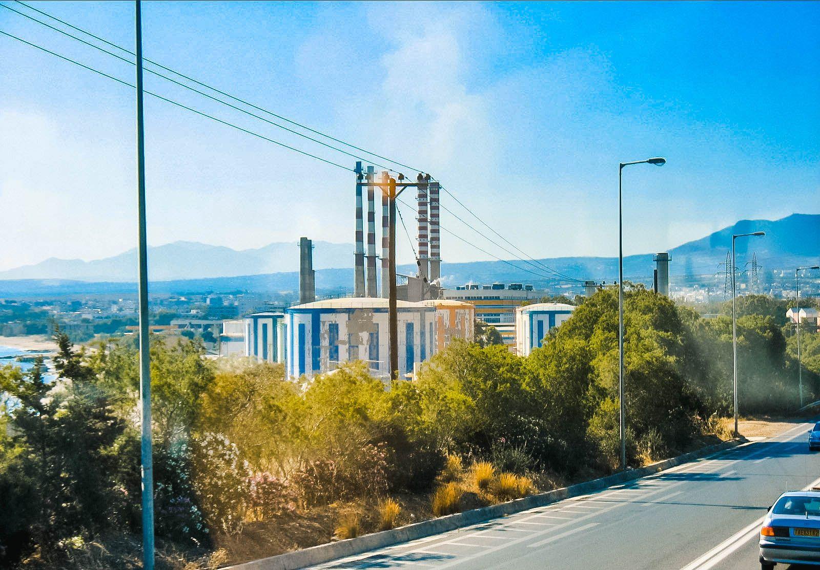 Ираклионская ТЭЦ, Крит (07.06.2006)