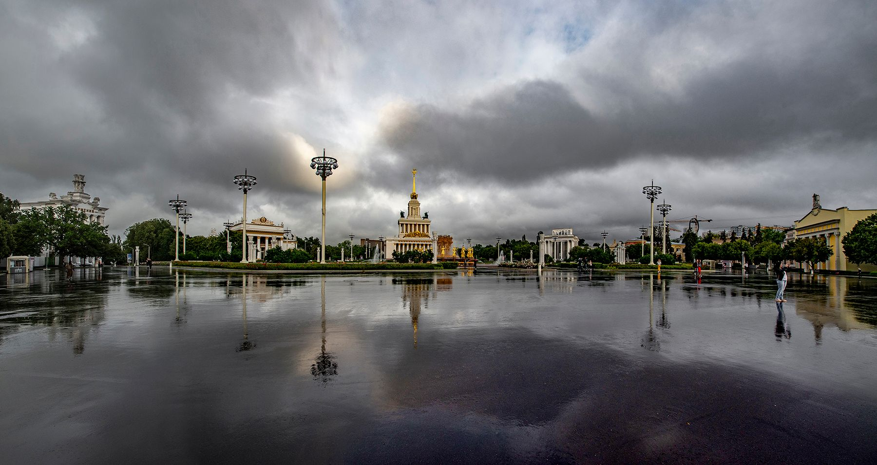 ДРУЖБА НАРОДОВ Москва ВДНХ фонтан Дружба_народов