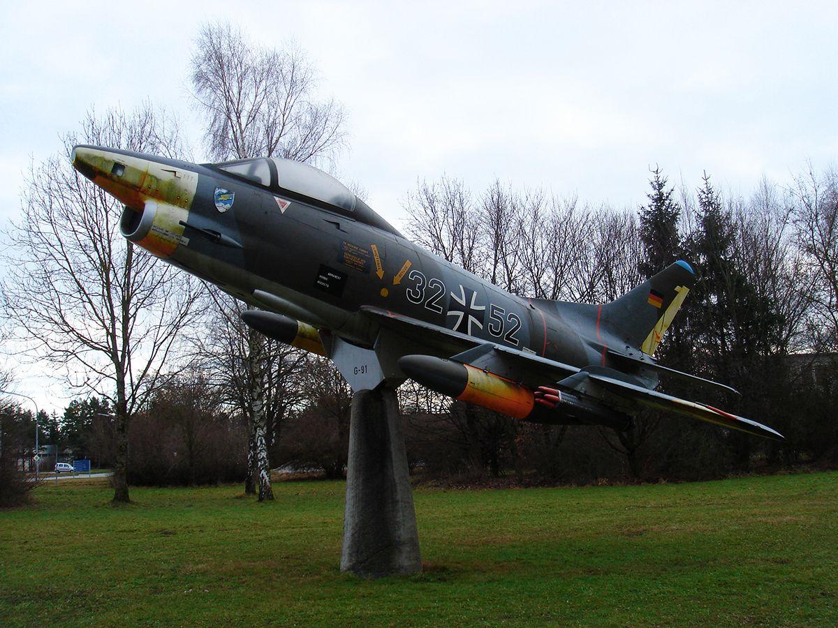 Тактический истребитель Fiat G.91 R/3 (1956-1969) Тактический истребитель Fiat G.91