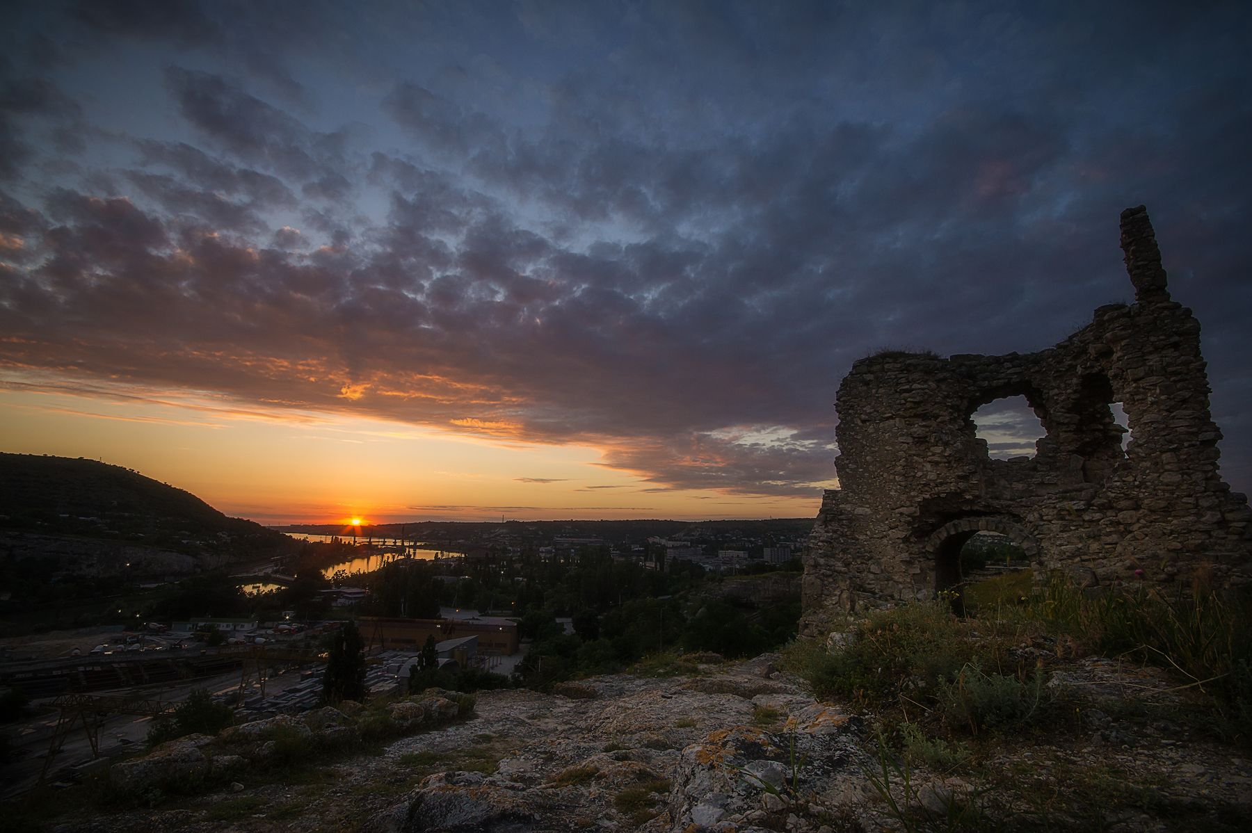 Инкерман, Каламита 2 Крым пейзаж закат