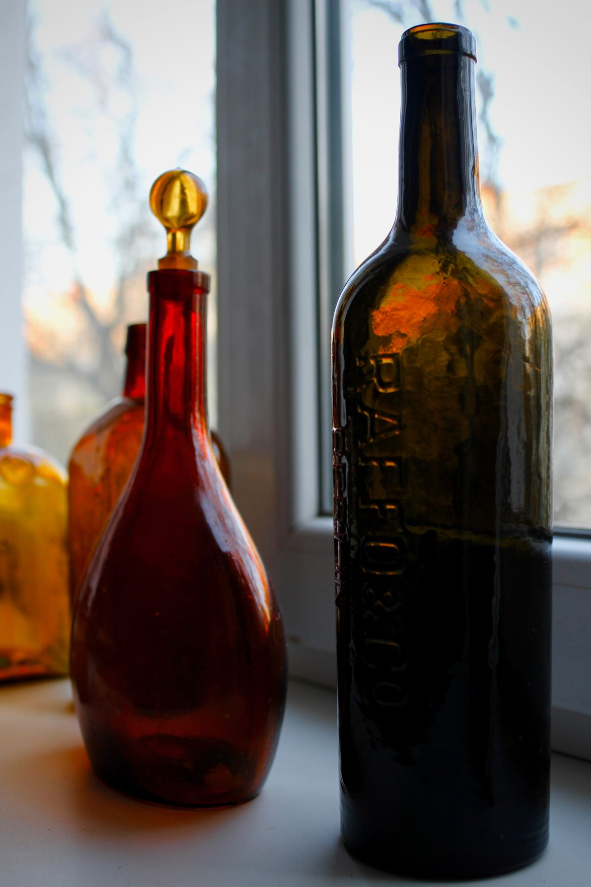 Закат в бутылке