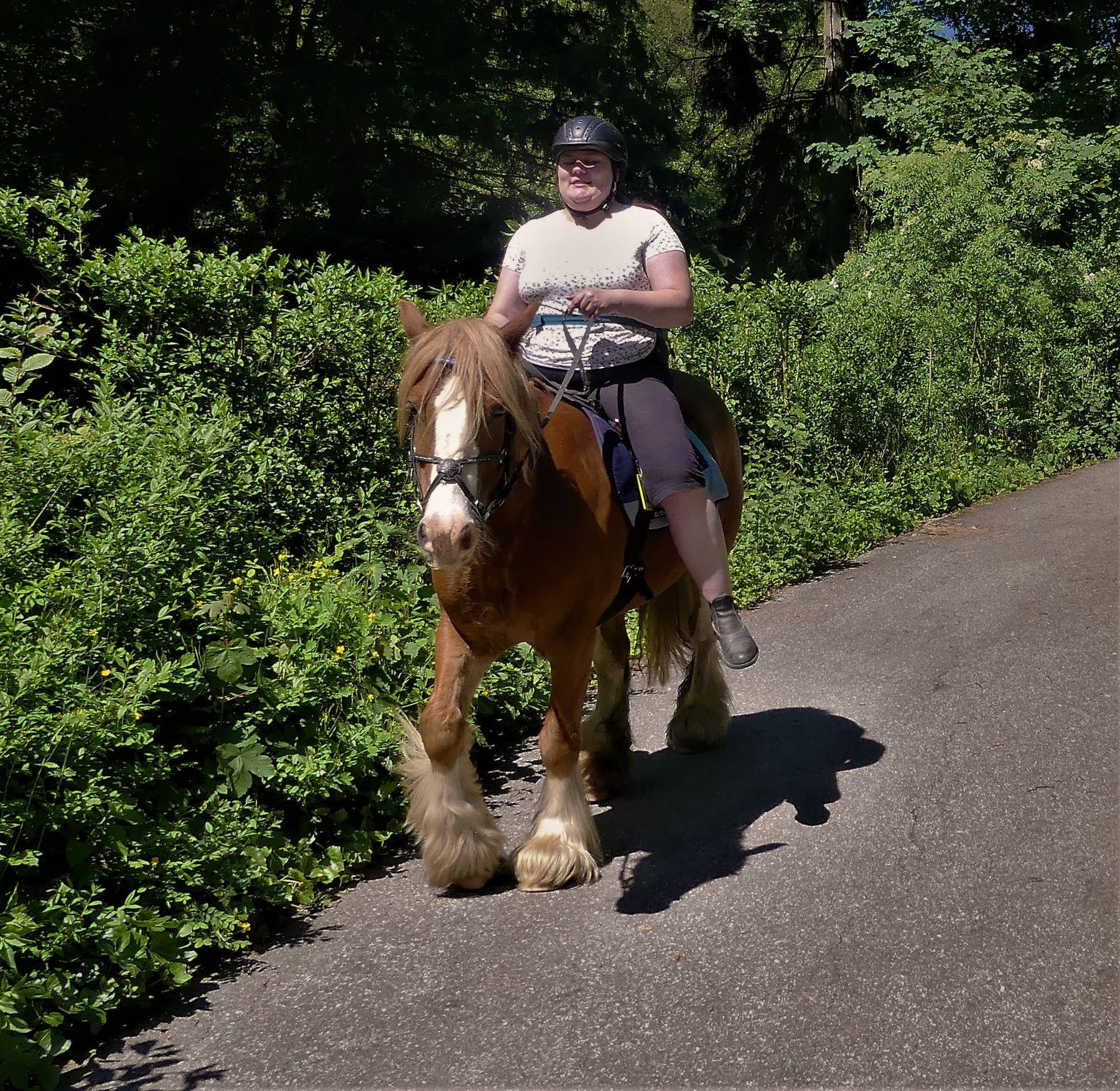 Размер имеет значение природа лошадь наездница