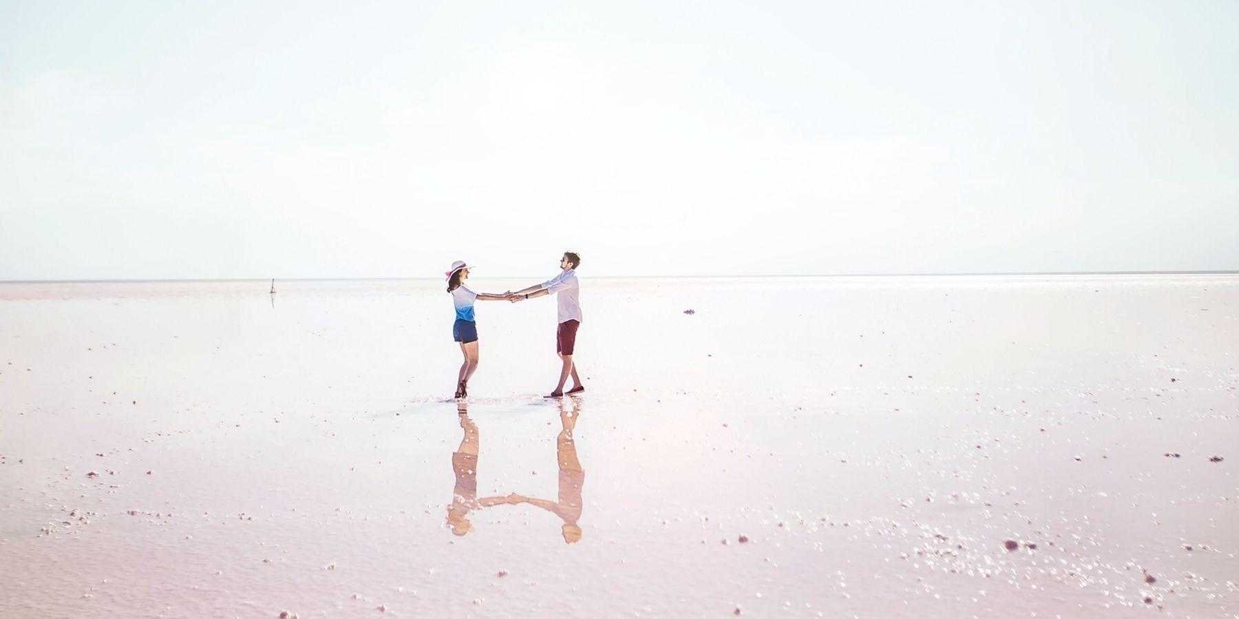 ∞ природа озеро любовь бесконечность
