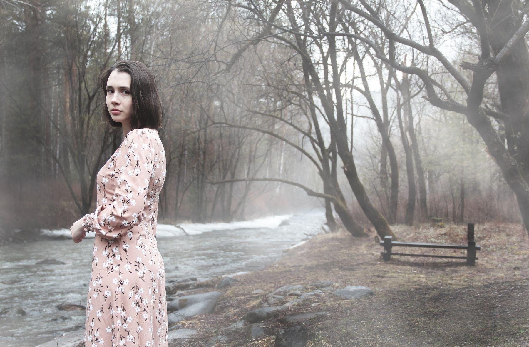 Она пишет стихи туман река стихи меланхолия