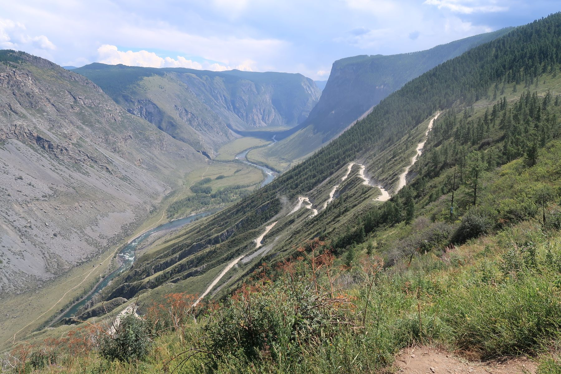 Перевал Кату-Ярык Алтай горы перевал Кату-Ярык