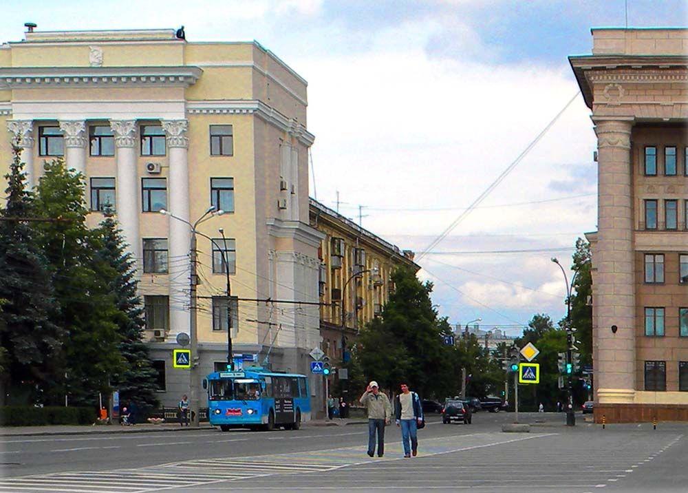 Челябинск. На ул. Тимирязева Челябинск улица