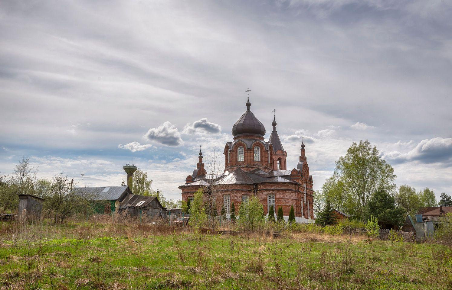 Никольская церковь села Макарово