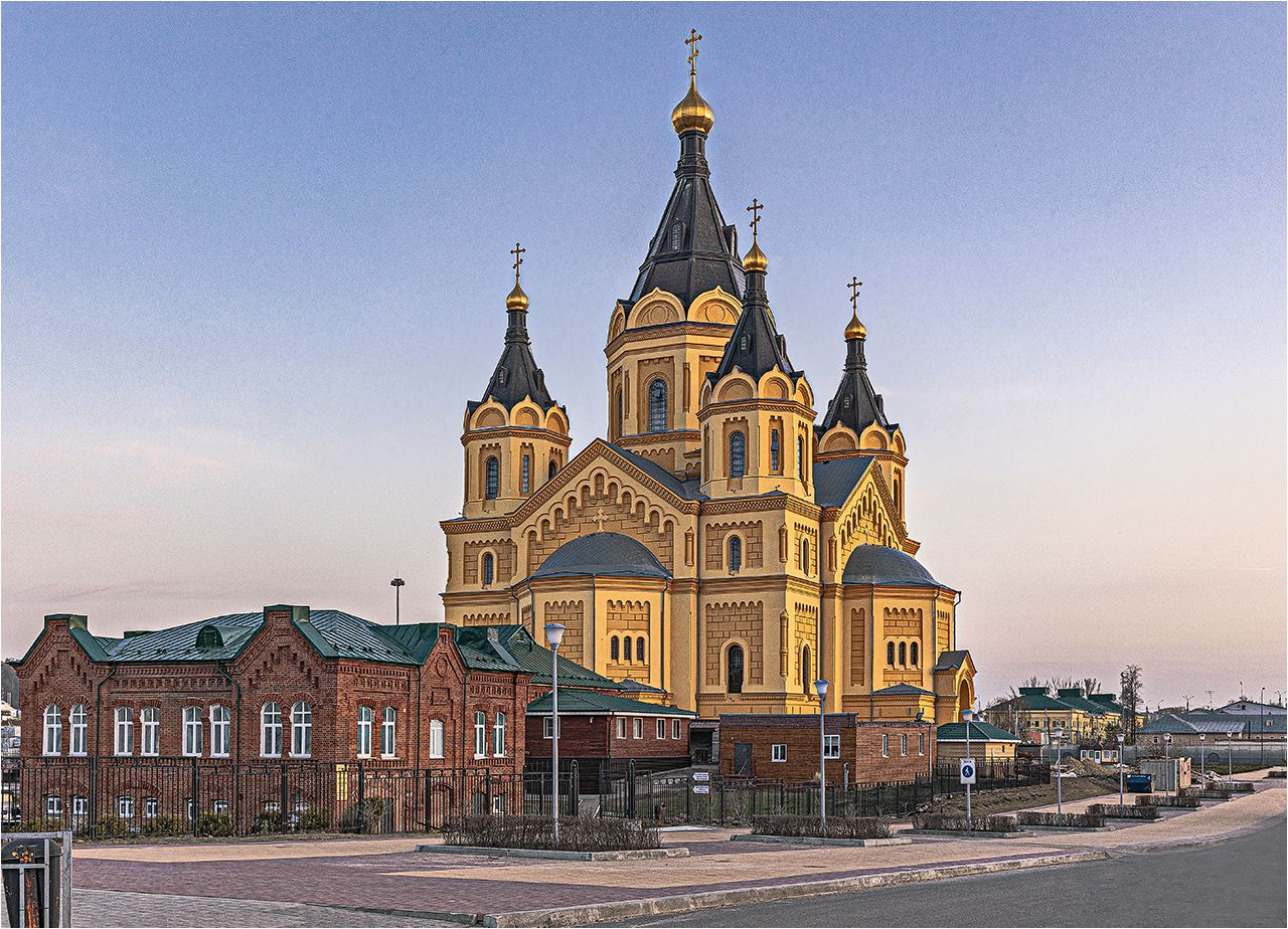 Собор Александра Невского Нижний Новгород собор Александра Невского