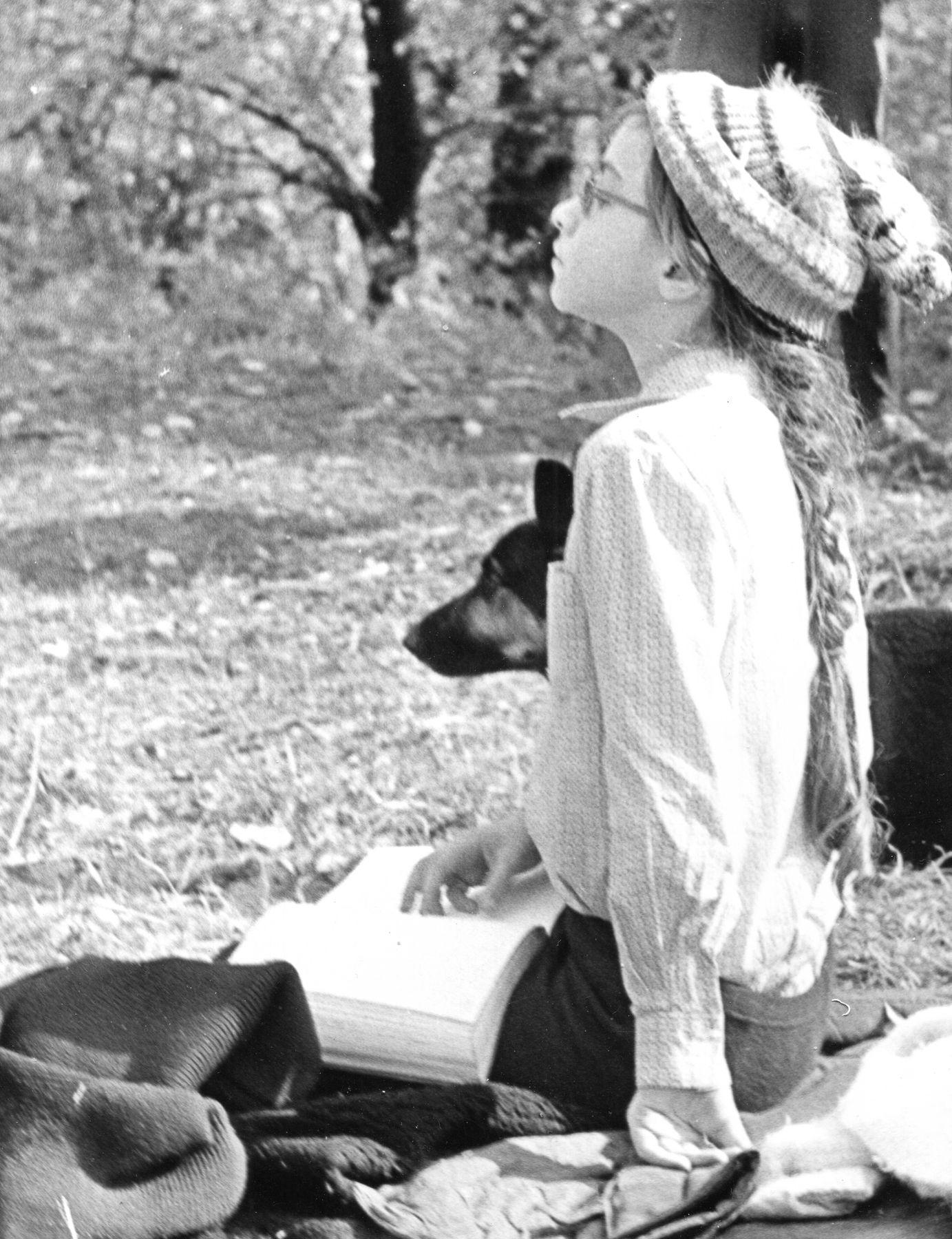 Девочка и ее собака