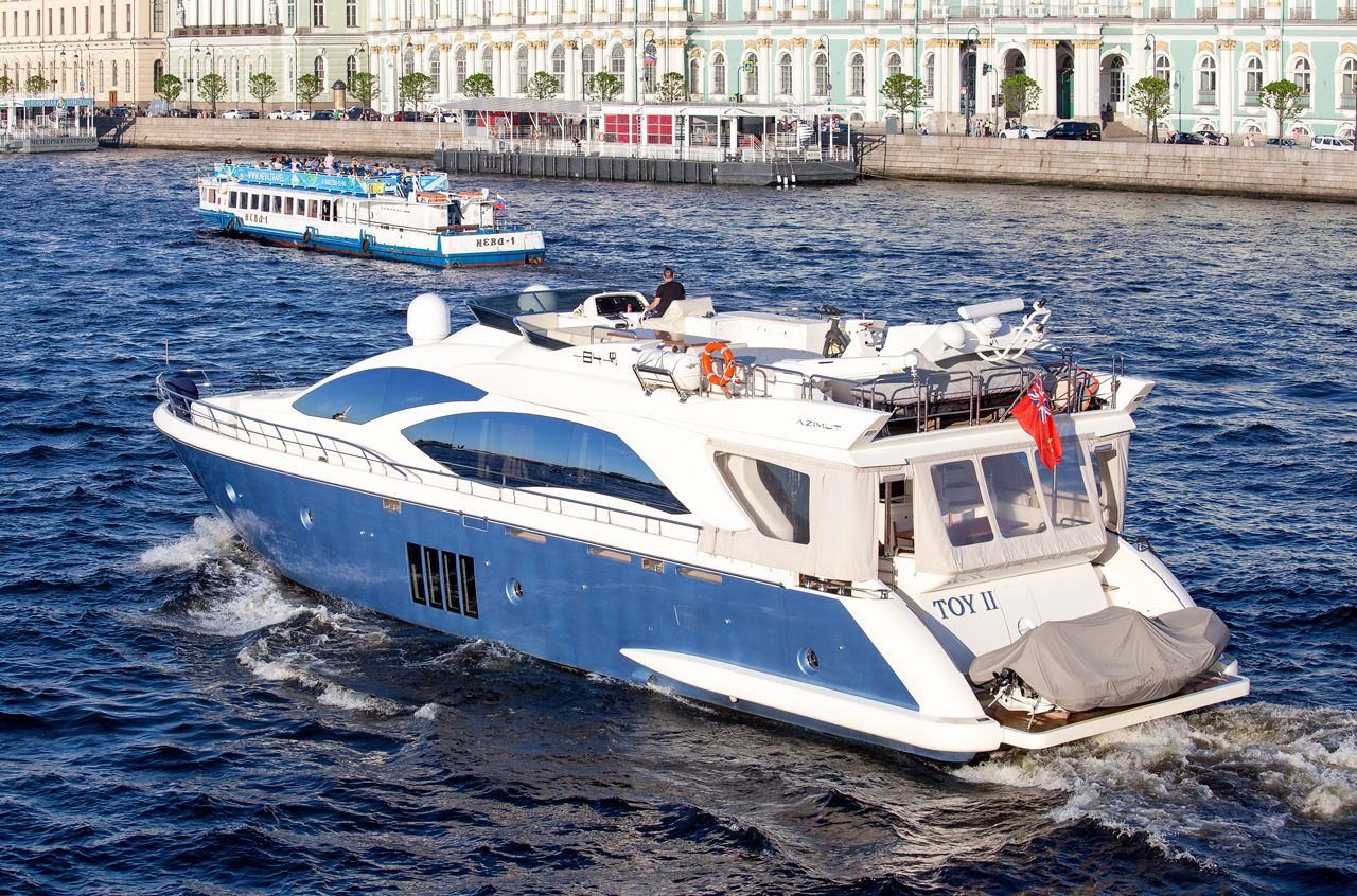 AZIMUT 84 моторная яхта AZIMUT