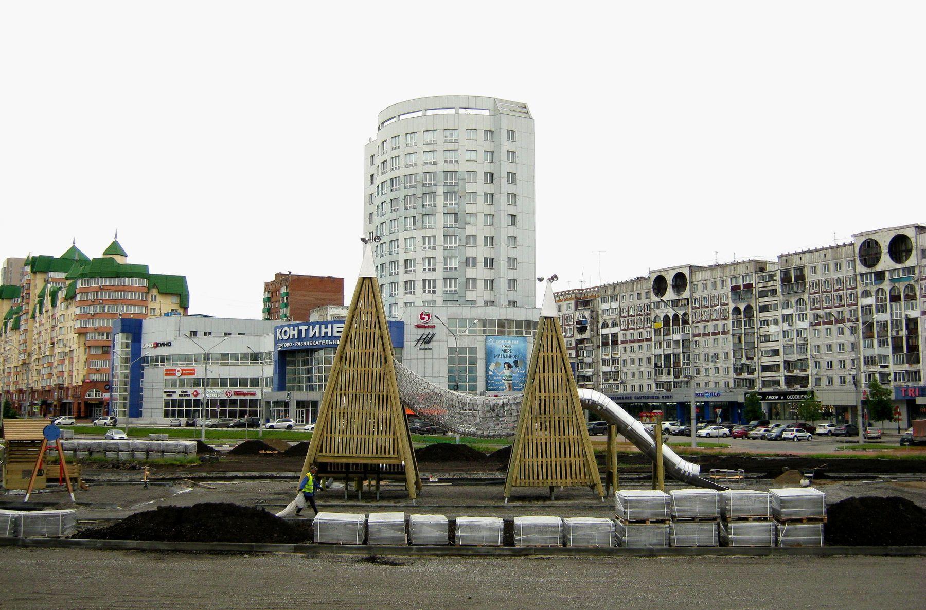 Детская площадка. Путешествия арт жанр архитектура