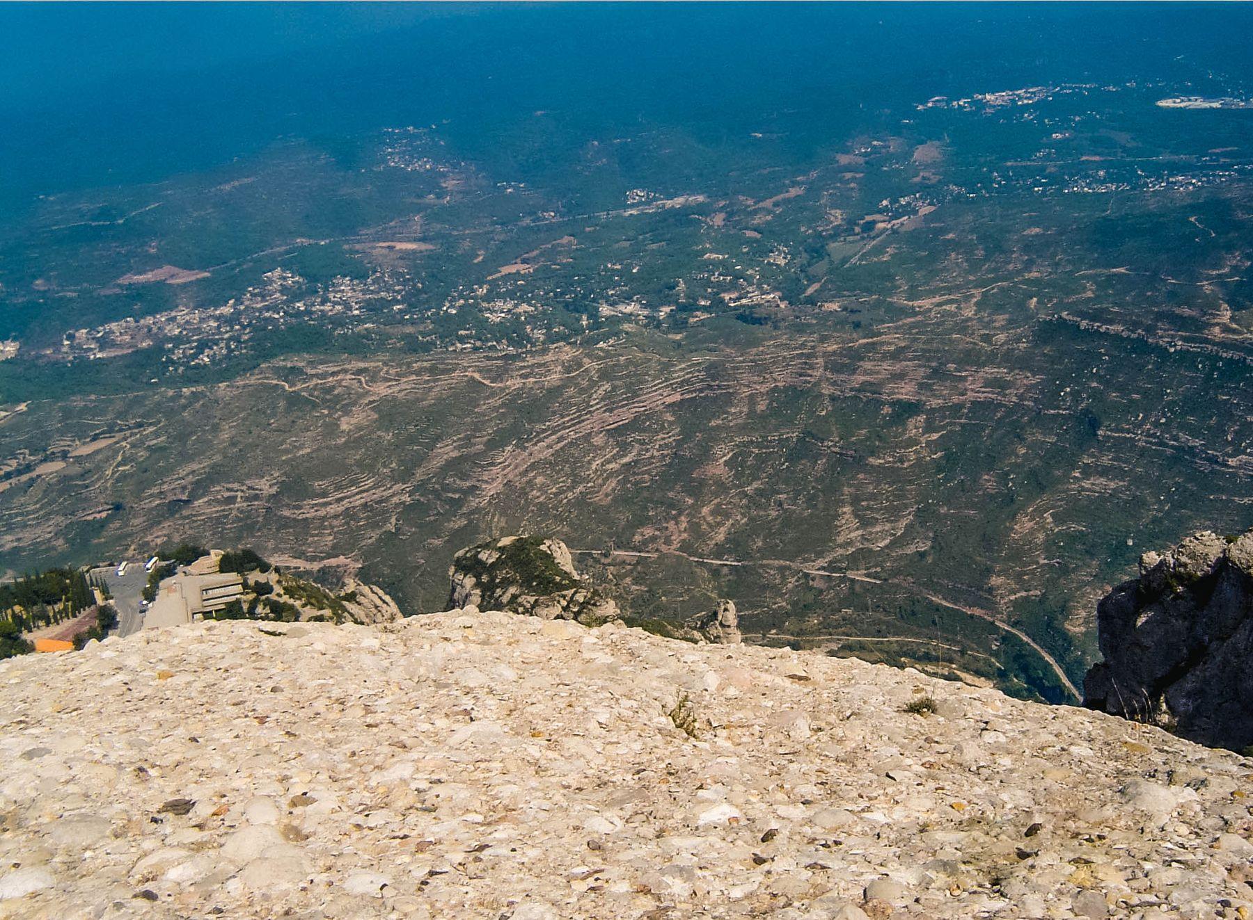 Вид с горы Монсеррат, Испания (09.09.2004)