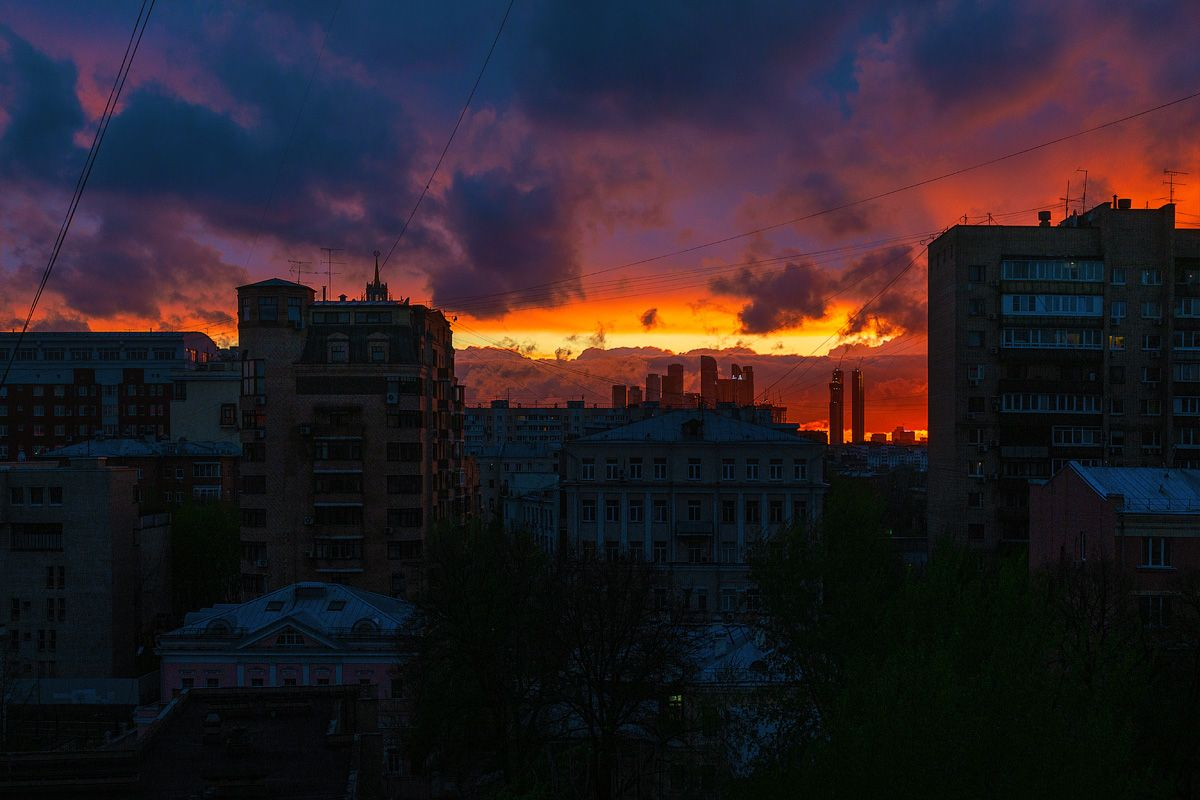 *** город