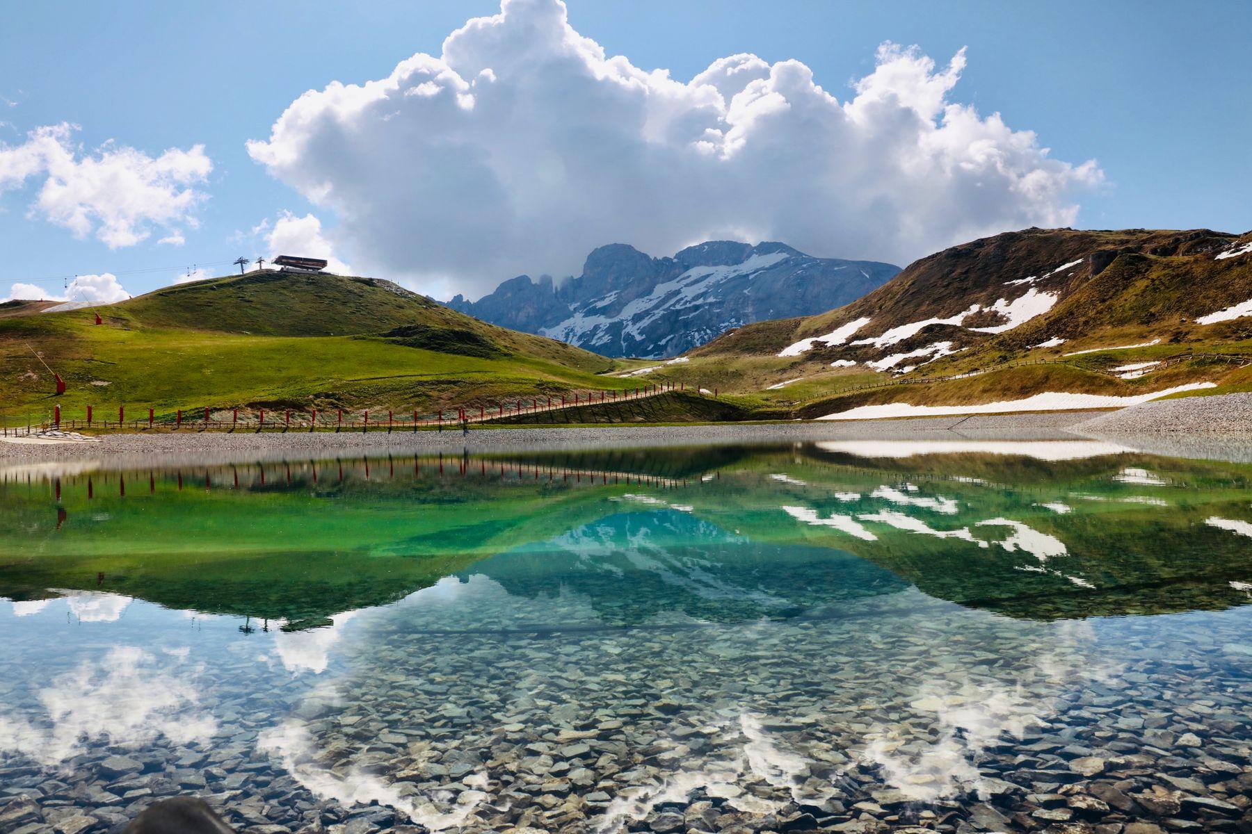 ***Прогулка Горы Альпы Куршевель Франция горнолыжный курорт