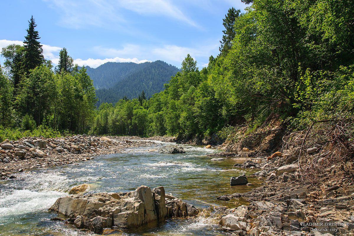 *** река Солзан летом фото