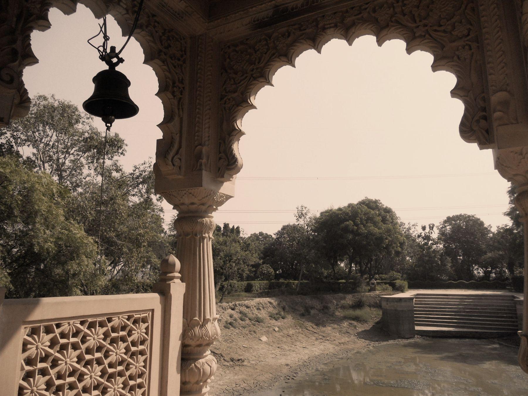 3. Храм Вриндадеви. индия храм путешествия