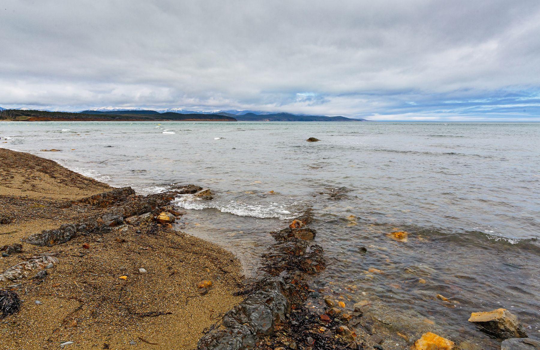 Побережье... Сахалин море