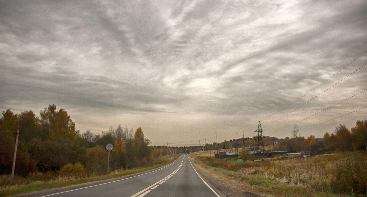 """Из проекта """"Дороги"""" дорога пейзаж подмосковье"""