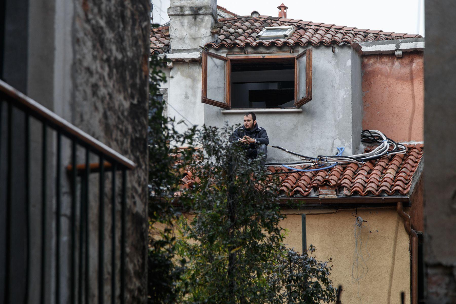 *** Италия Венеция Рабочий