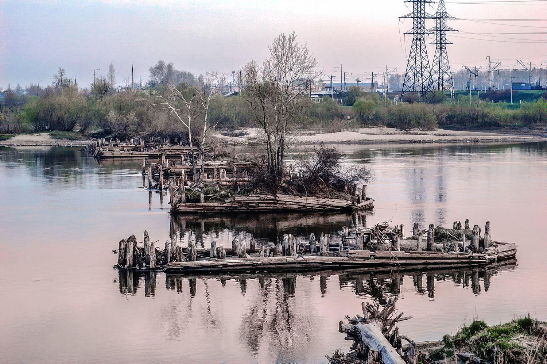 Когда-то здесь был мост река мост история