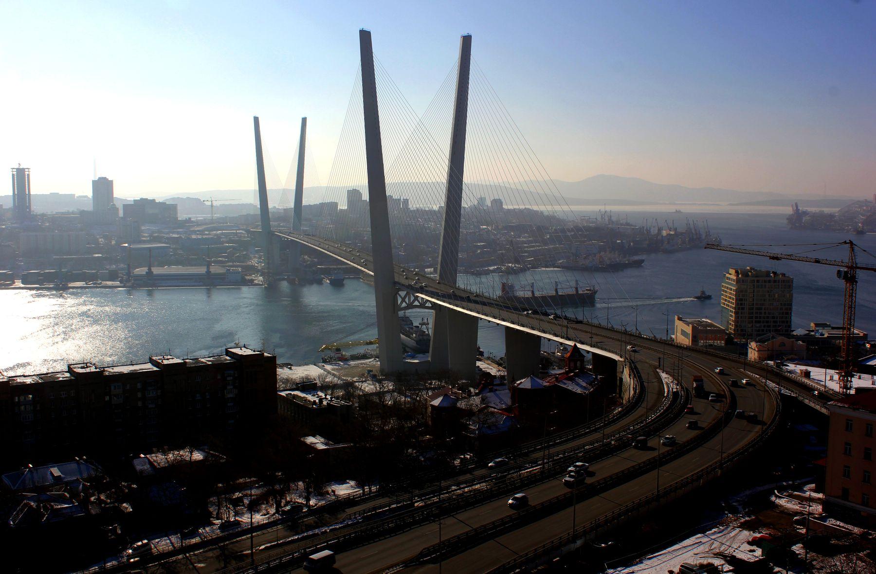 Владивосток, вид с Орлиной сопки