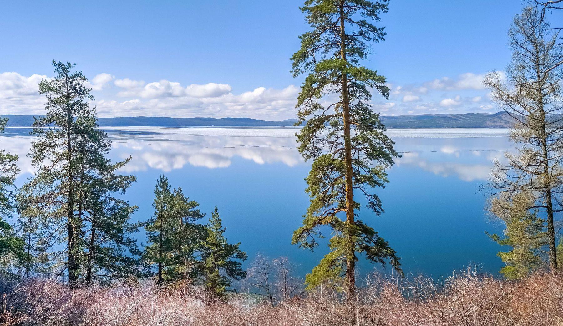 Начало Мая на озере Тургояк. Южный Урал Миасс Тургояк озеро природа весна Май