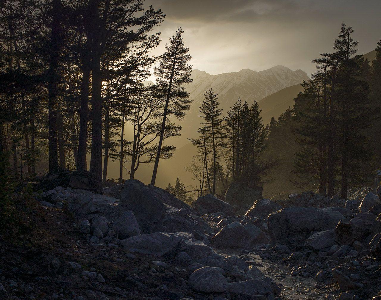 Слепой дождик Адылсу Кабардино-Балкария
