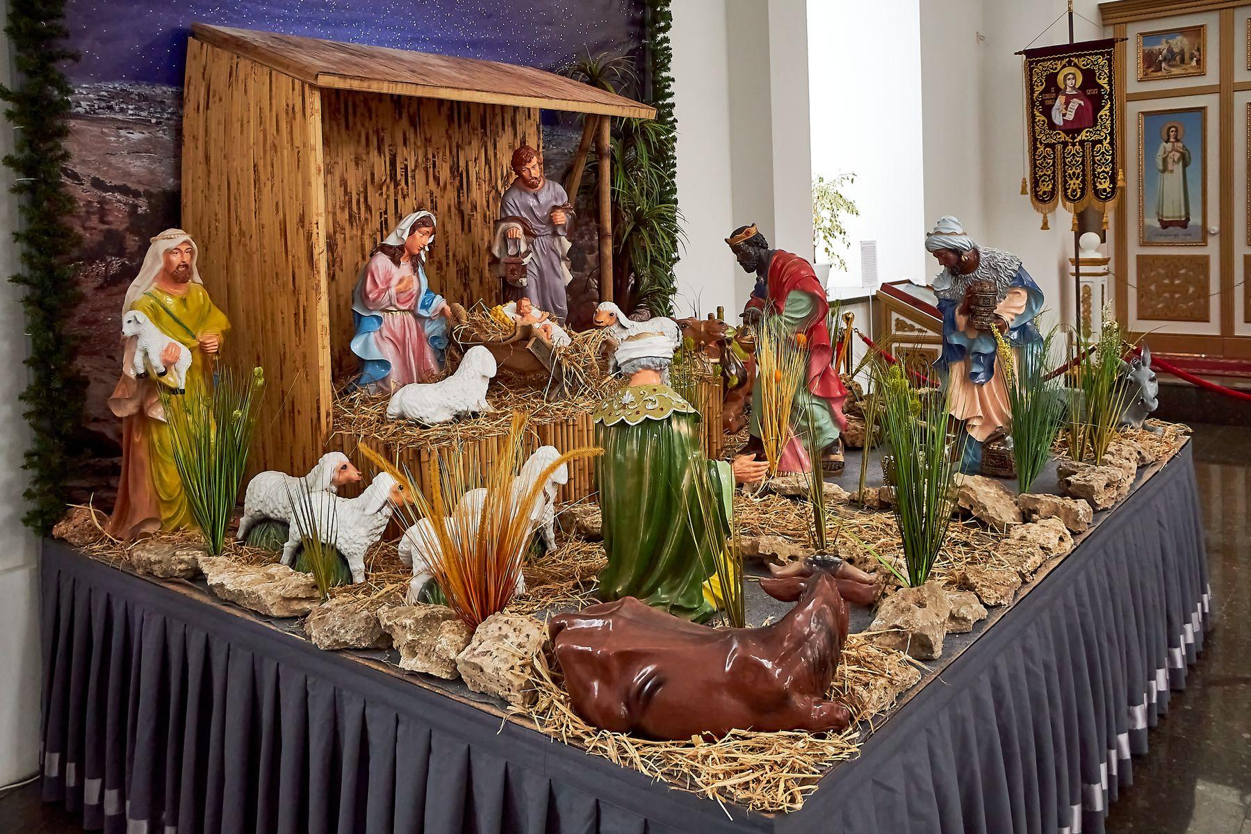 Рождество Христово рождество праздник вертеп церковь храм православие