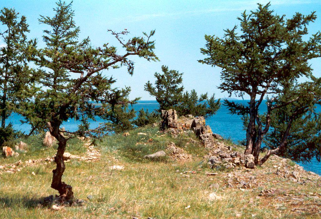 Виды Ольхона о.Байкал остров Ольхон